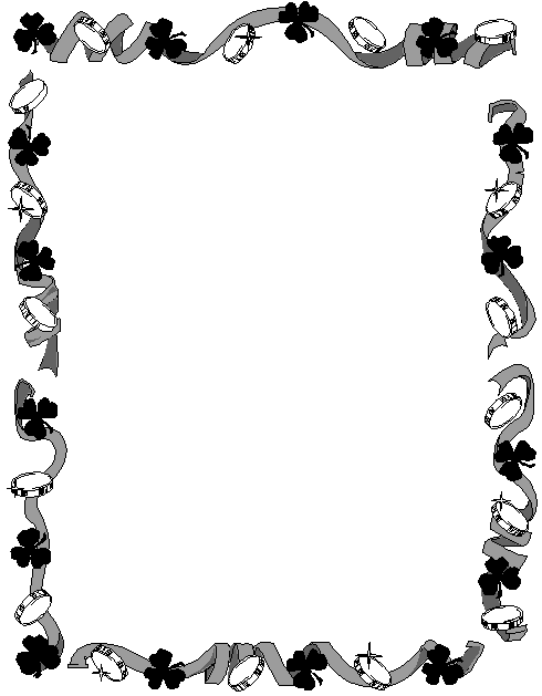 Drums clipart border. Free st patricks day