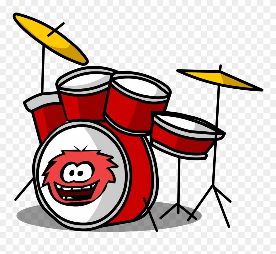 Drum kit sprite png. Drums clipart cartoon