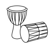 Drums clipart colouring. Coloring pages hellokids com
