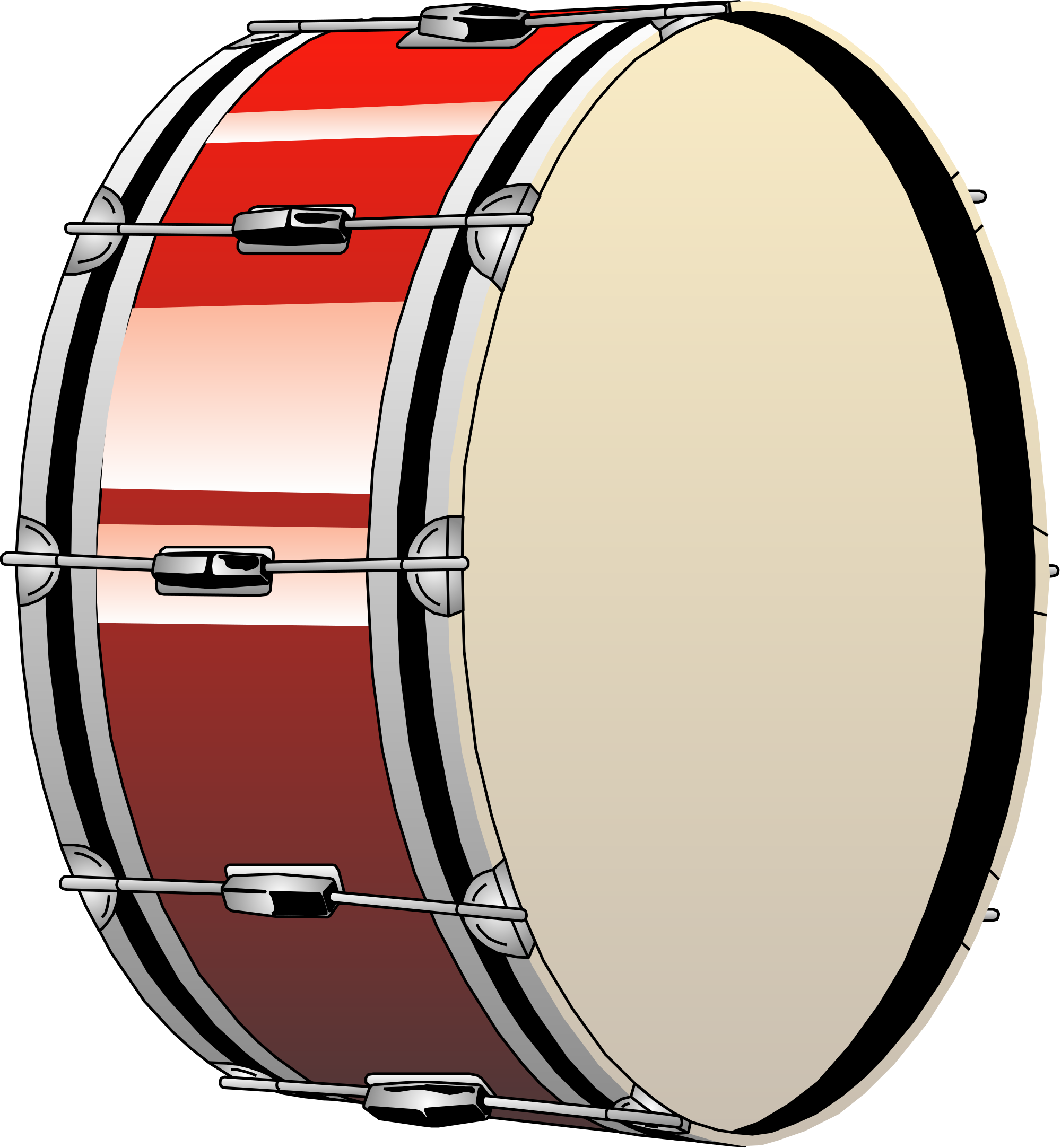Drums clipart file. Bass drum svg wikimedia