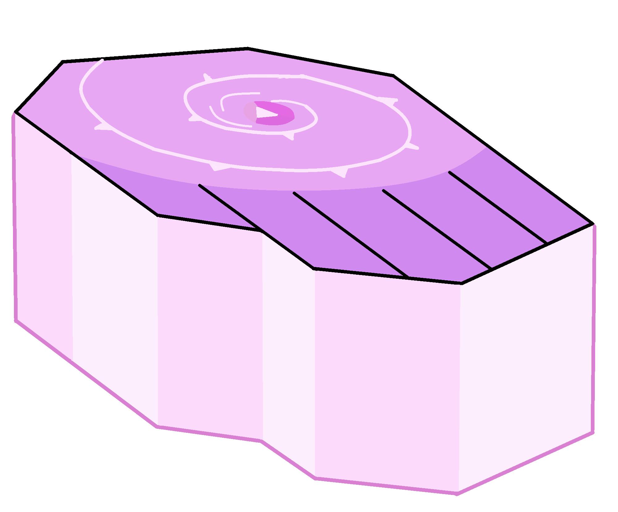 Pedestals steven universe wiki. Gem clipart rectangle