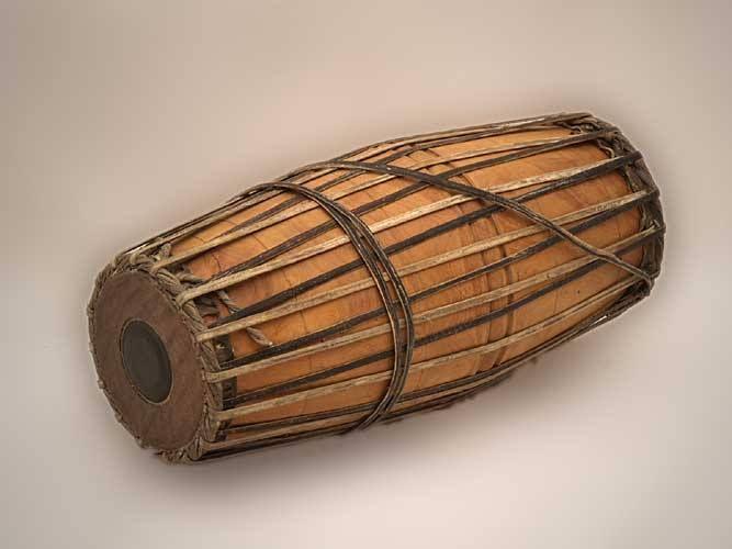 Musical instruments . Drums clipart mridangam