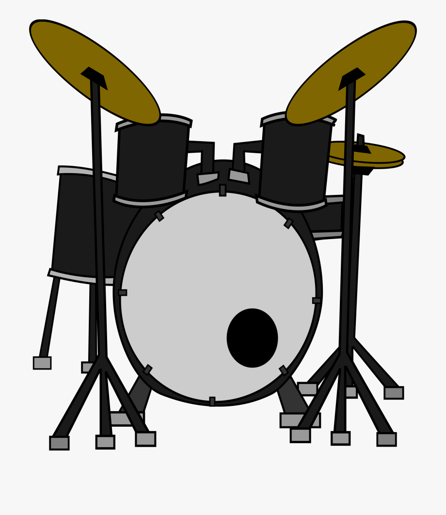 Simple clip art free. Drums clipart music drum