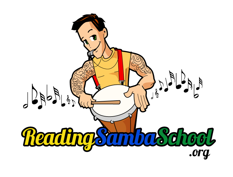 Reading school . Drums clipart samba drums