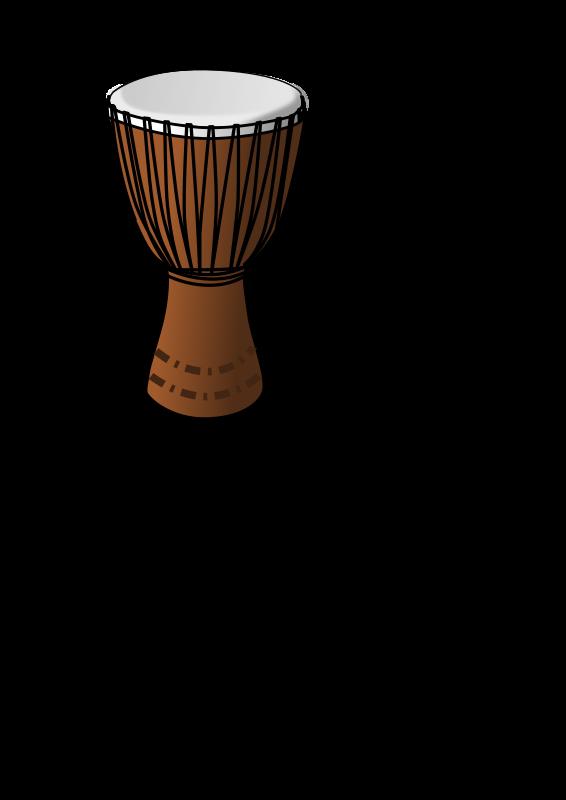 Djembe drum medium image. Drums clipart svg