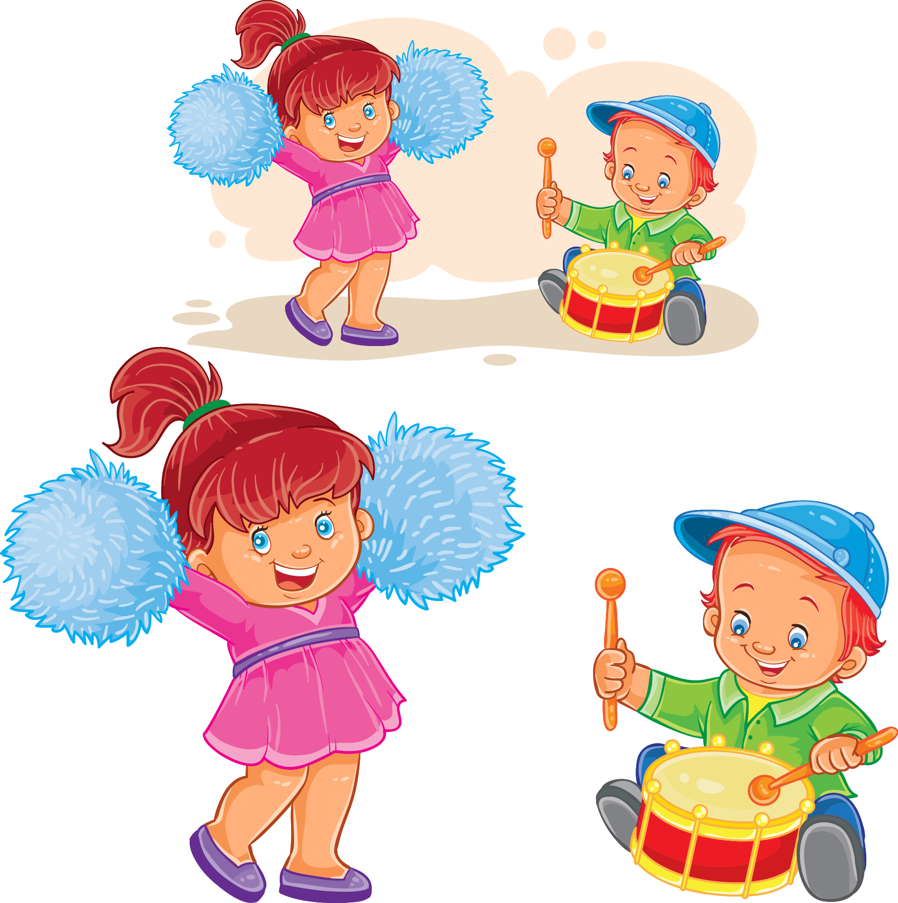 Child play royalty free. Drums clipart toy drum