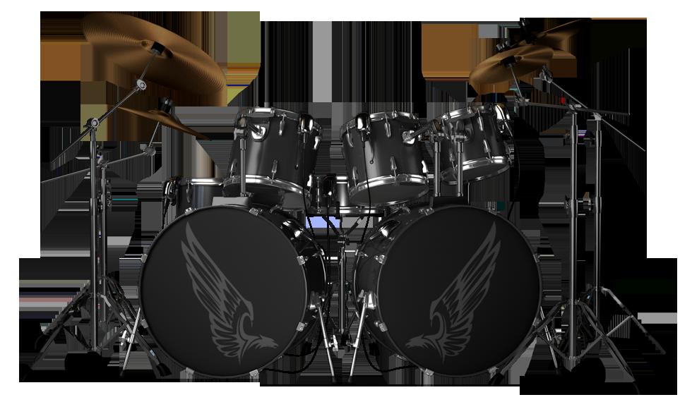 Kit png image purepng. Drums clipart transparent background