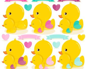 Rubber ducky etsy . Duck clipart baby shower