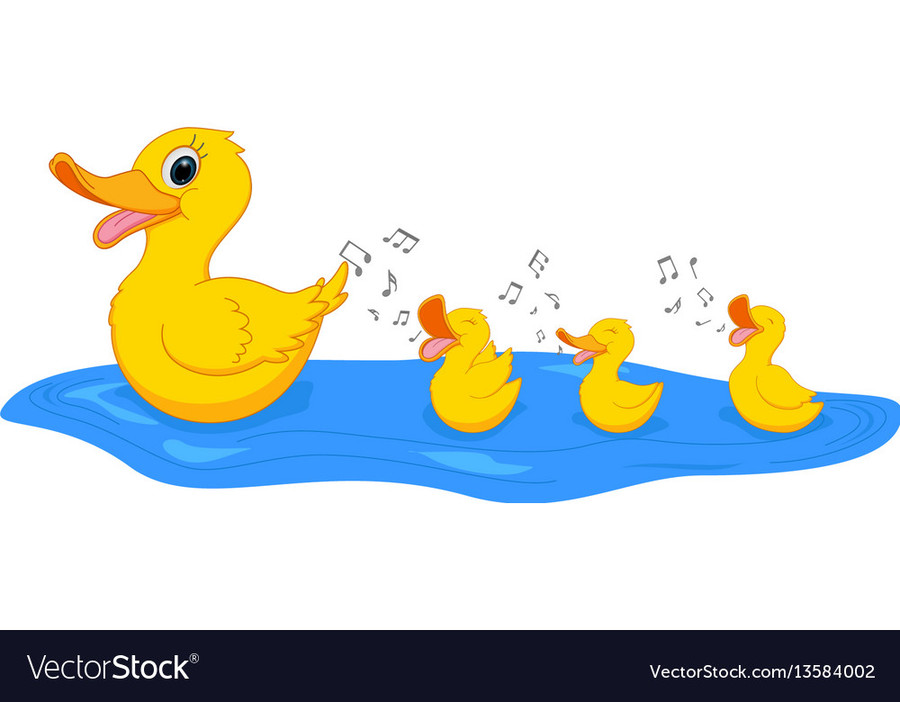 Duck clipart family, Duck family Transparent FREE for ... (900 x 702 Pixel)