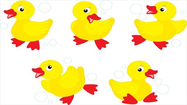 Ducks clipart five. Ducklings free download best