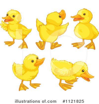 Duckling clipart. Cute duck clip art