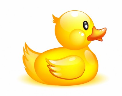 Duckling clipart. Duck and beautiful cartoon