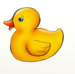 How to draw a. Ducks clipart easy