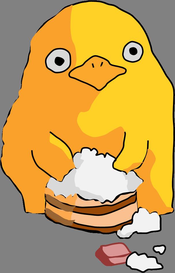 Pinterest studio ghibli . Ducks clipart fat duck