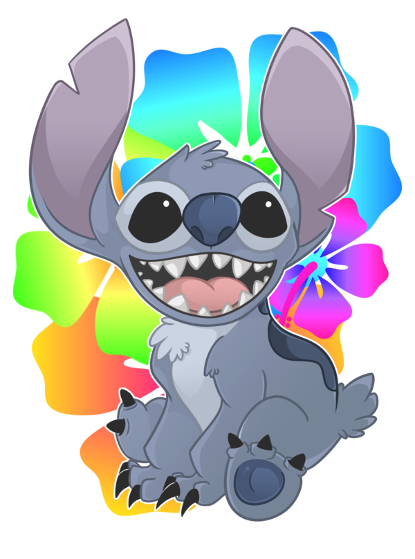 The cutest thing in. Stitch clipart couple