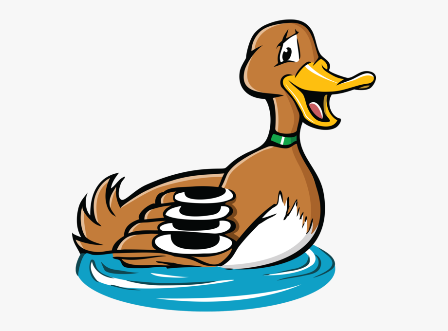 Pin duck pond swimming. Duckling clipart game