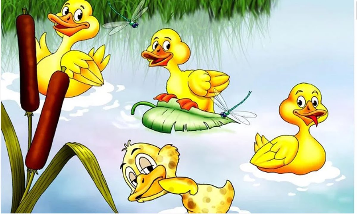Duckling clipart game. For kids ugly storybook