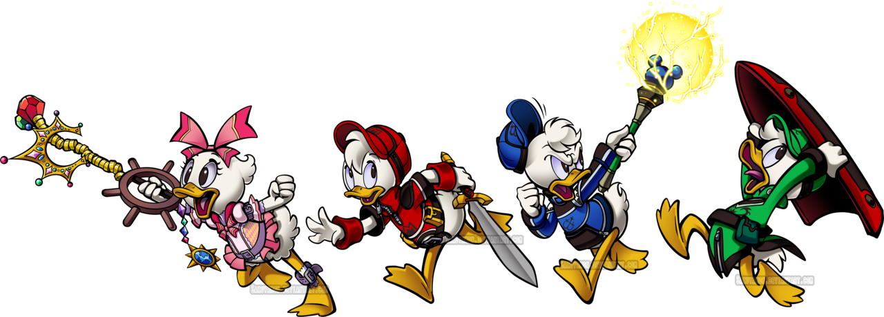 Kh hod reboot ducklings. Youtube clipart kingdom hearts