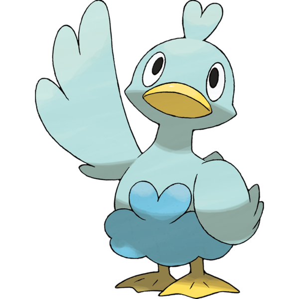 pokemon retrospective gen. Duckling clipart mummy