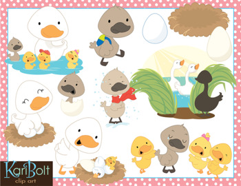 Duckling clipart story. The ugly clip art