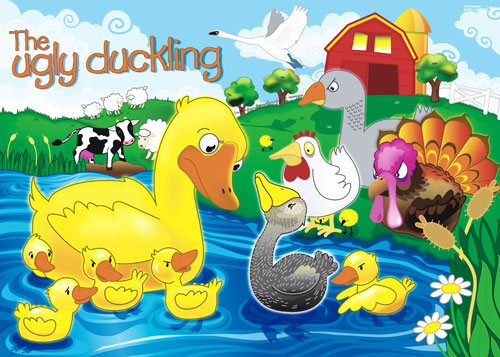 The ugly fairy tales. Duckling clipart story