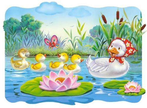 Pin on migration . Duckling clipart story