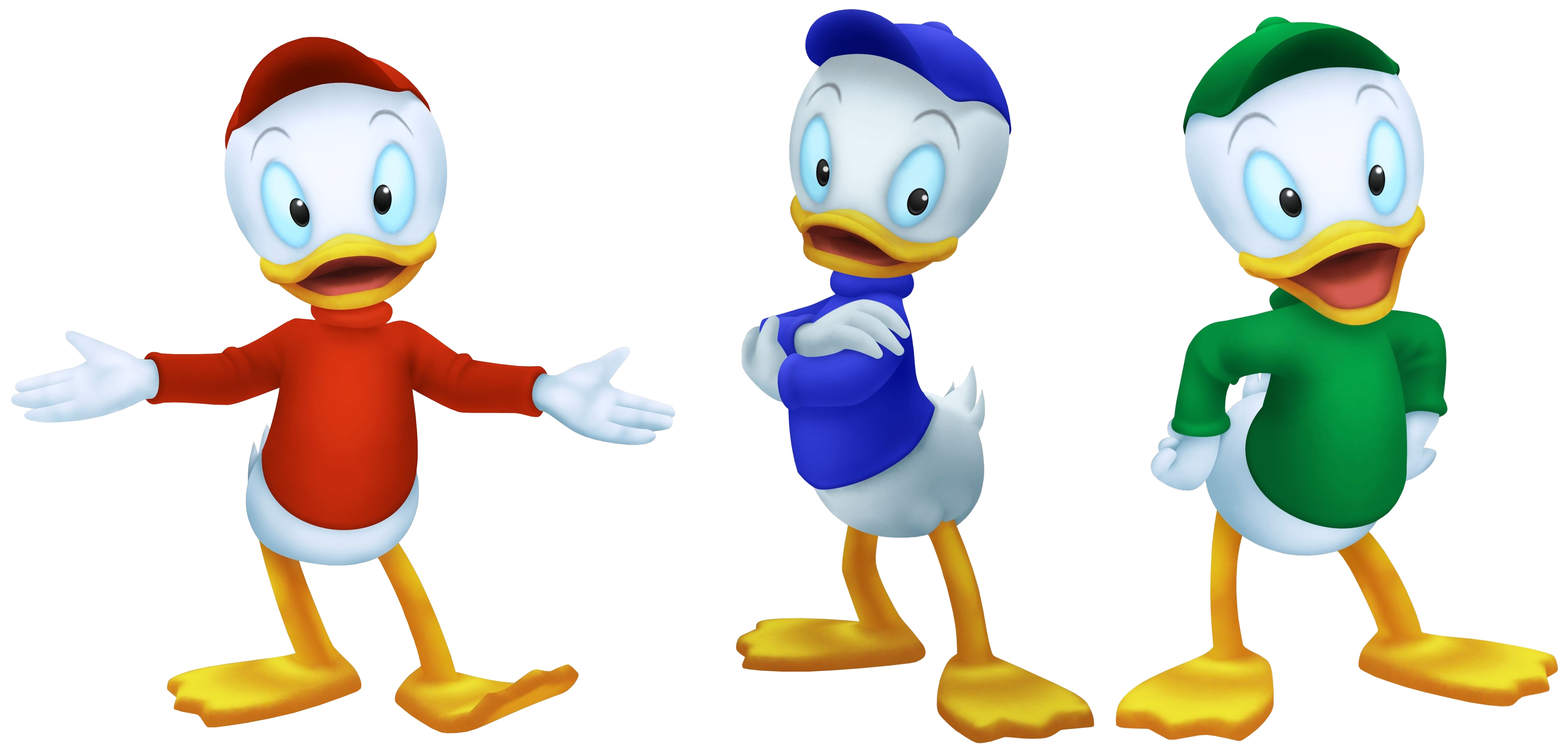 Huey dewey and louie. Duckling clipart three