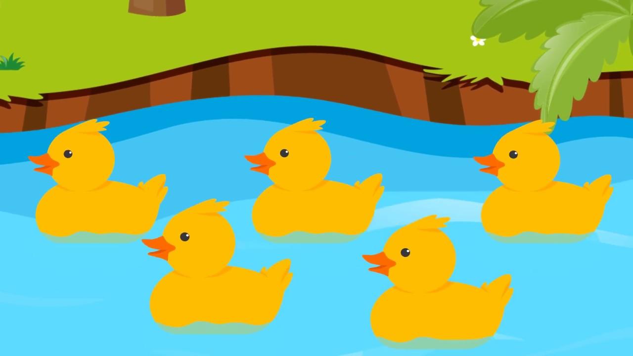 little song. Ducks clipart 5 duck