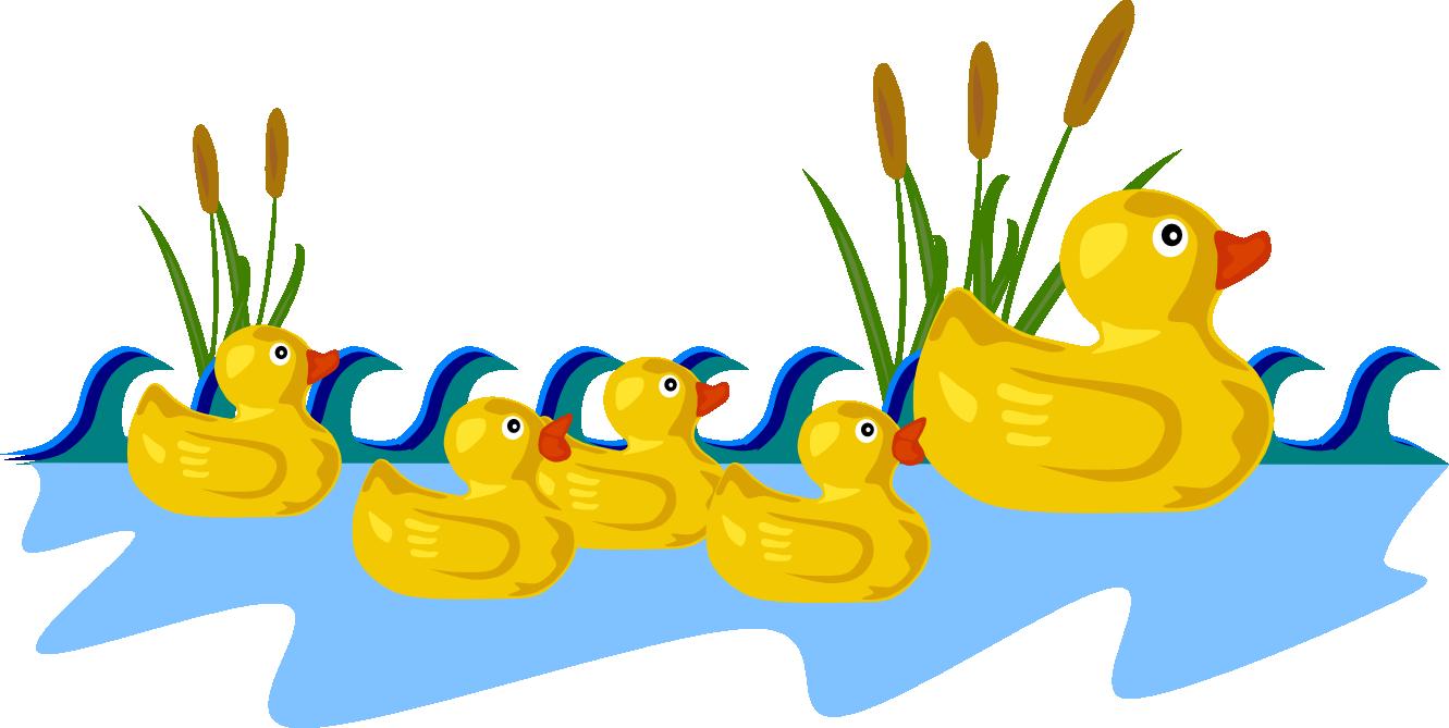Ducks clipart. Duck clip art black