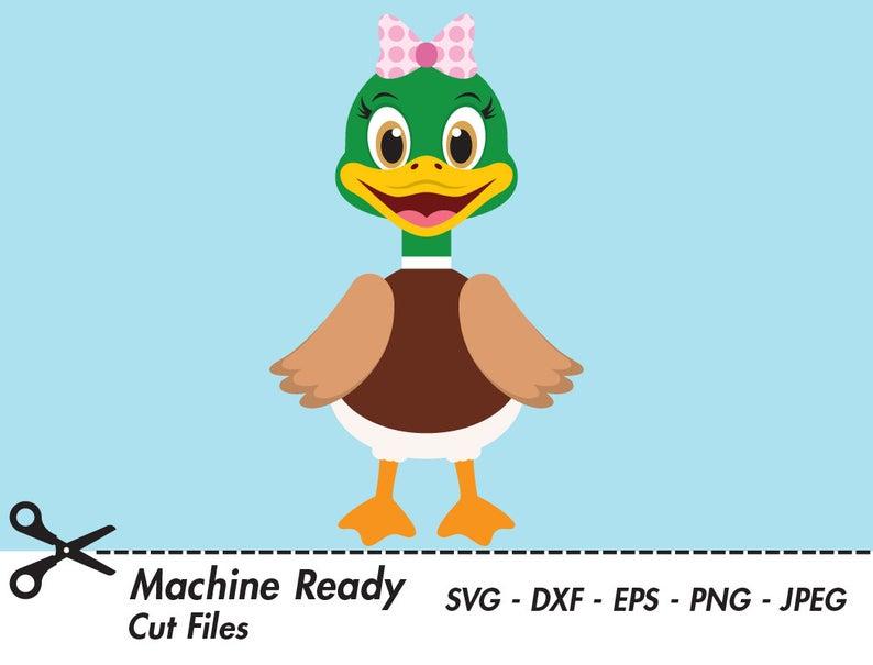 Cute duck svg cut. Ducks clipart bird