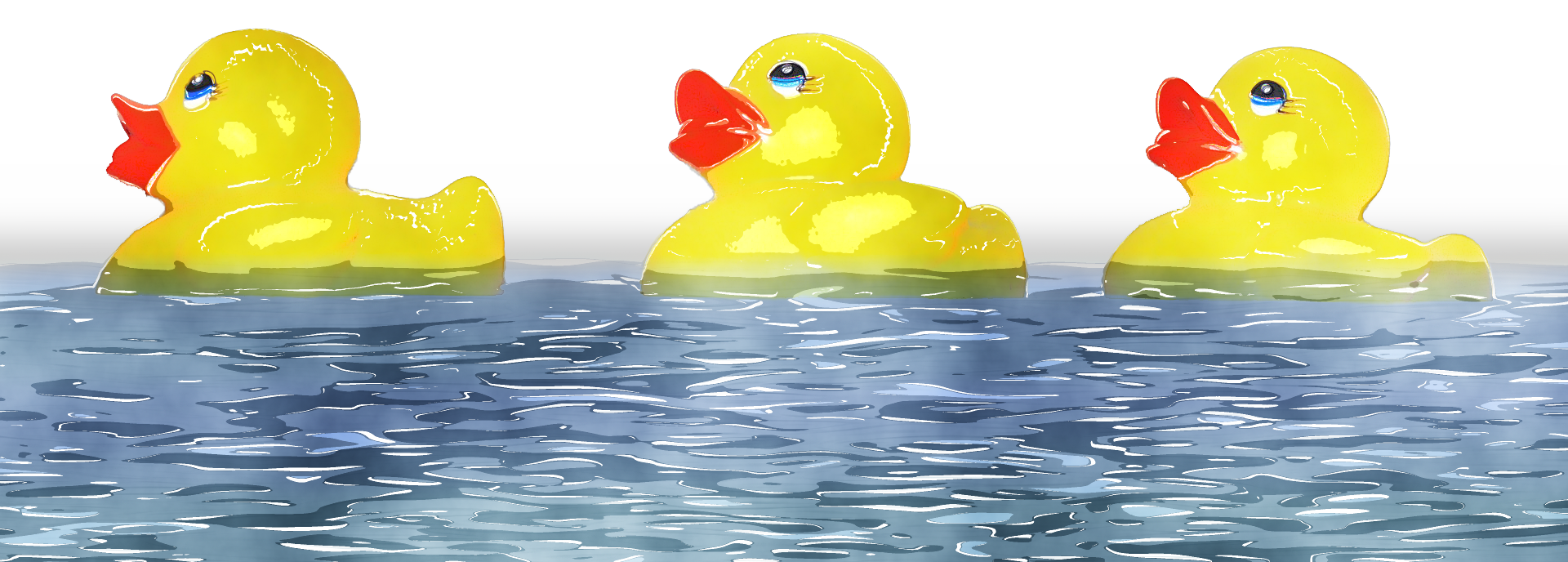 Ducks clipart blue. Watercolour by lavandalu on