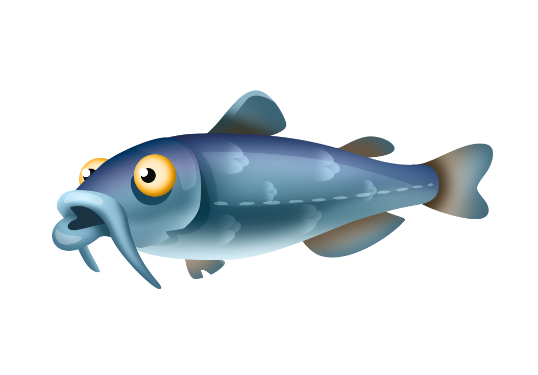 Fish hay day wiki. Trout clipart shadow