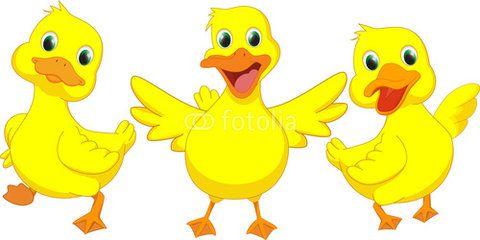 Ducks clipart happy. Duck cartoon