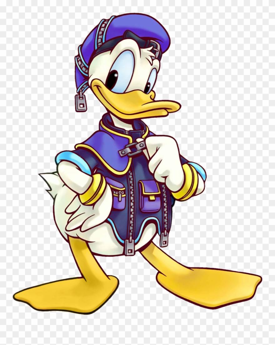 Kingdom hearts donald png. Ducks clipart hook a duck
