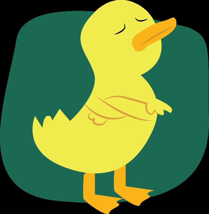 Virtues of a good. Ducks clipart seven