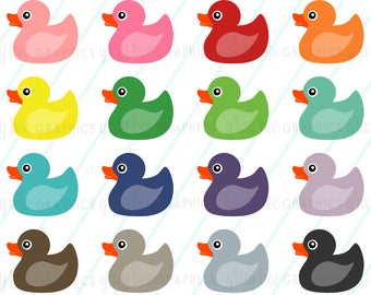 Ducks clipart seven. Rubber ducky etsy