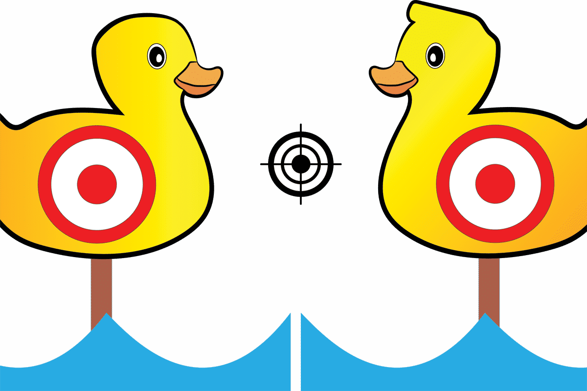 Ducks clipart sitting duck. Are you a istam