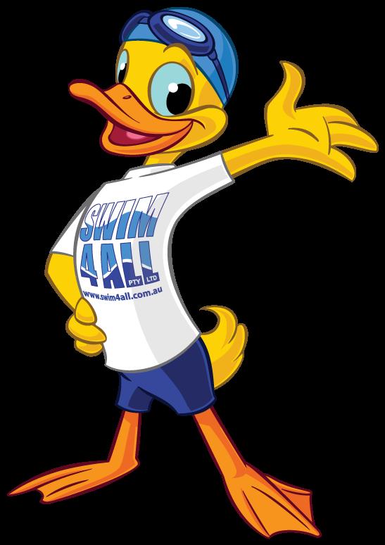 Swim all instilling a. Ducks clipart swimming