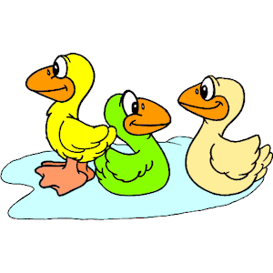 Cliparts of free download. Ducks clipart three duck