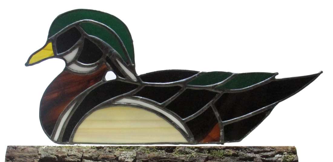 Available stained glass ashelcole. Ducks clipart wood duck