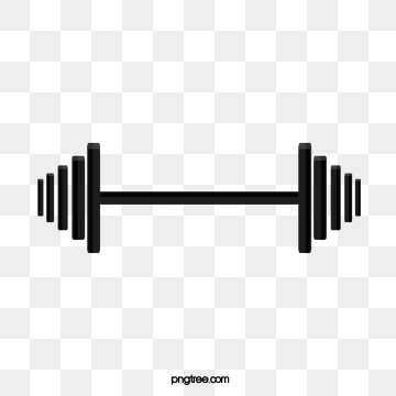 Dumbbell images png format. Exercising clipart dumb bells