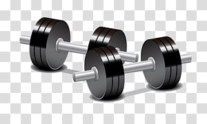 Cartoon transparent background png. Dumbbell clipart animated