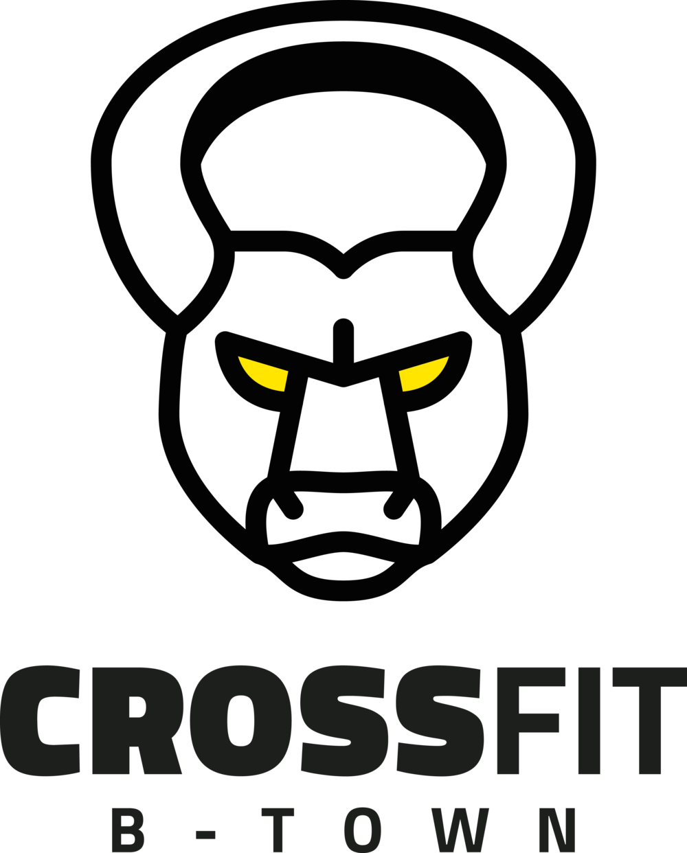 Dumbbell clipart barbell crossfit. B town