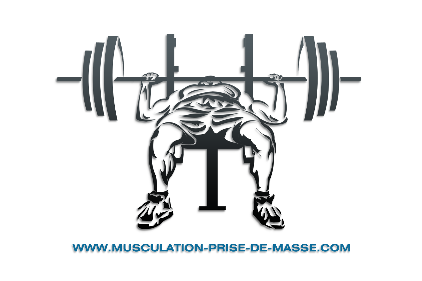 Press barbell crossfit clip. Dumbbells clipart weight bench