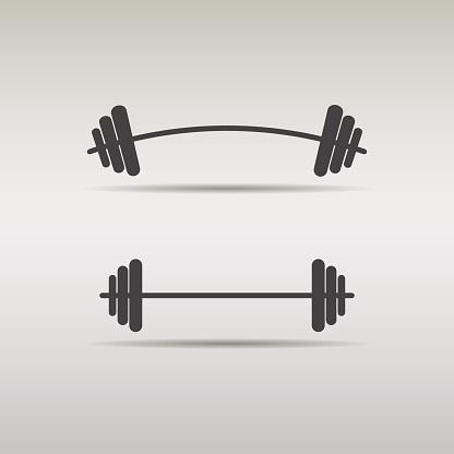 Free barbell cliparts download. Dumbbells clipart bent