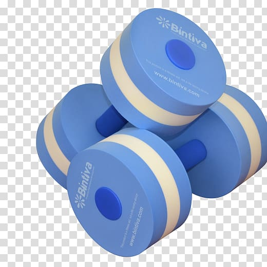 Dumbbell clipart blue. Water aerobics exercise equipment