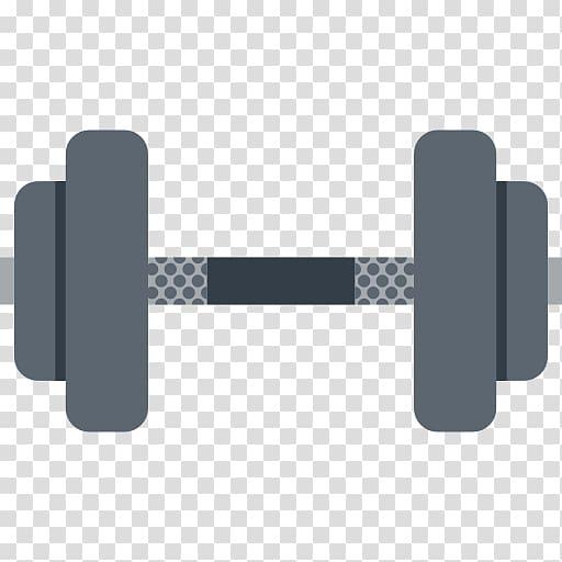 Dumbbell clipart border. Gray barbell illustration fitness