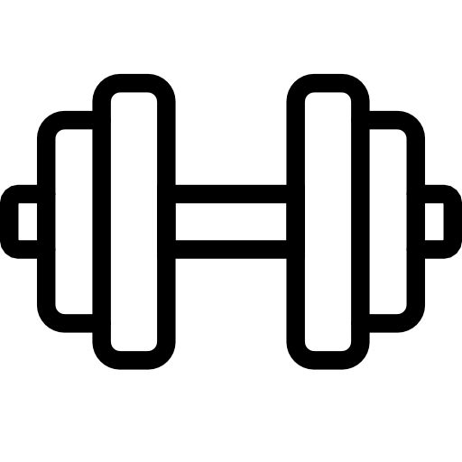 Collection of free download. Dumbbell clipart cute