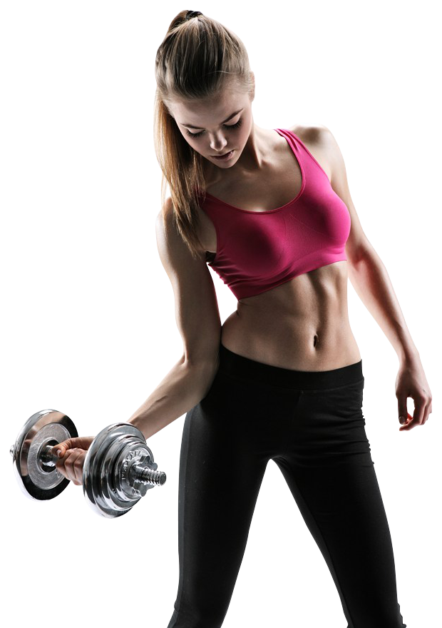 Portfolio designshop beautiful young. Dumbbells clipart excersize