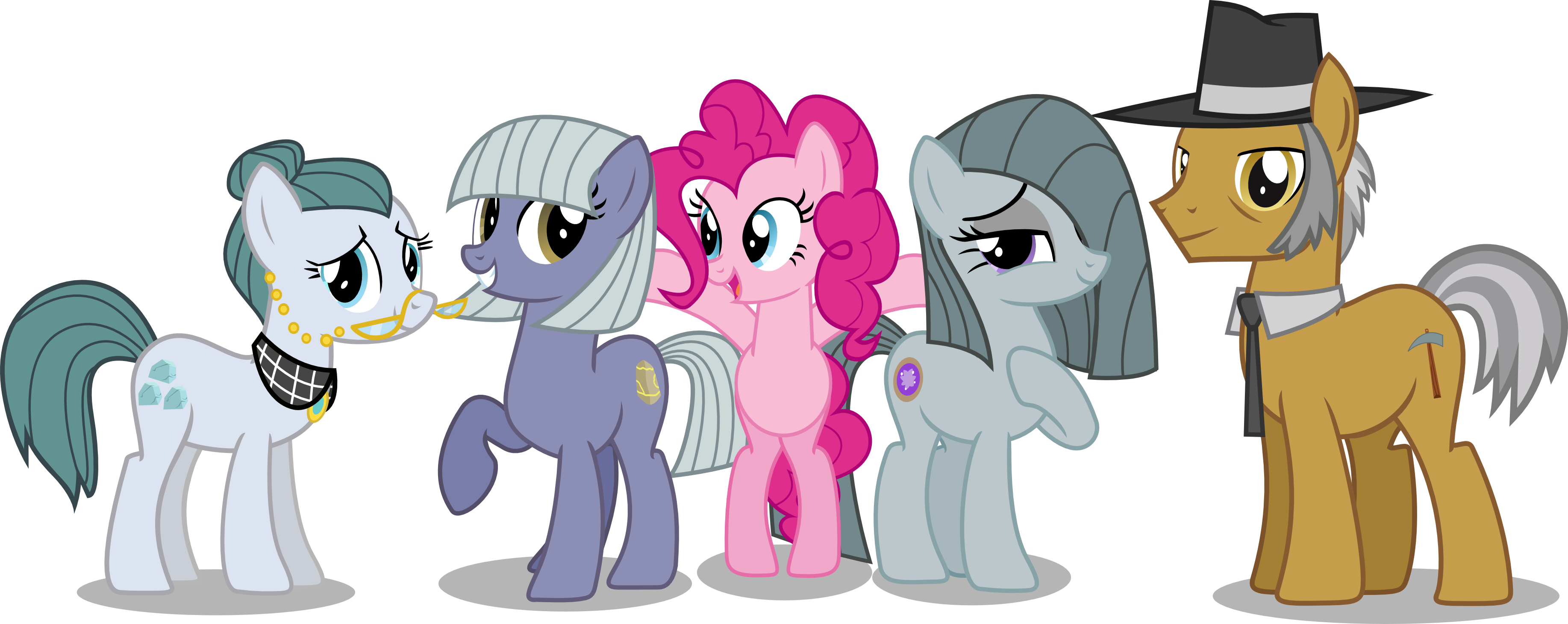 Dumbbell clipart extended family. Pinkie pie s by